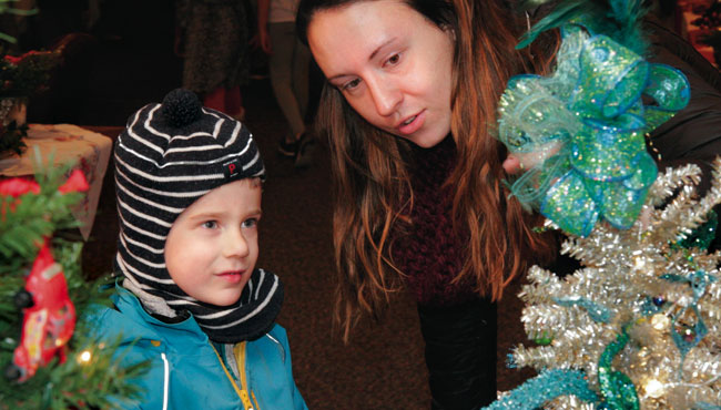 auxiliary Festival of Trees